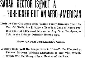 Article about Rector being under care of Tuskegee Institute